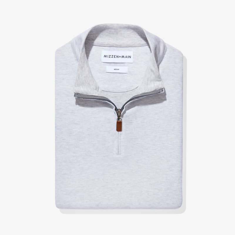 Fairway Pullover - Light Gray WhiteHeather, featured product shot