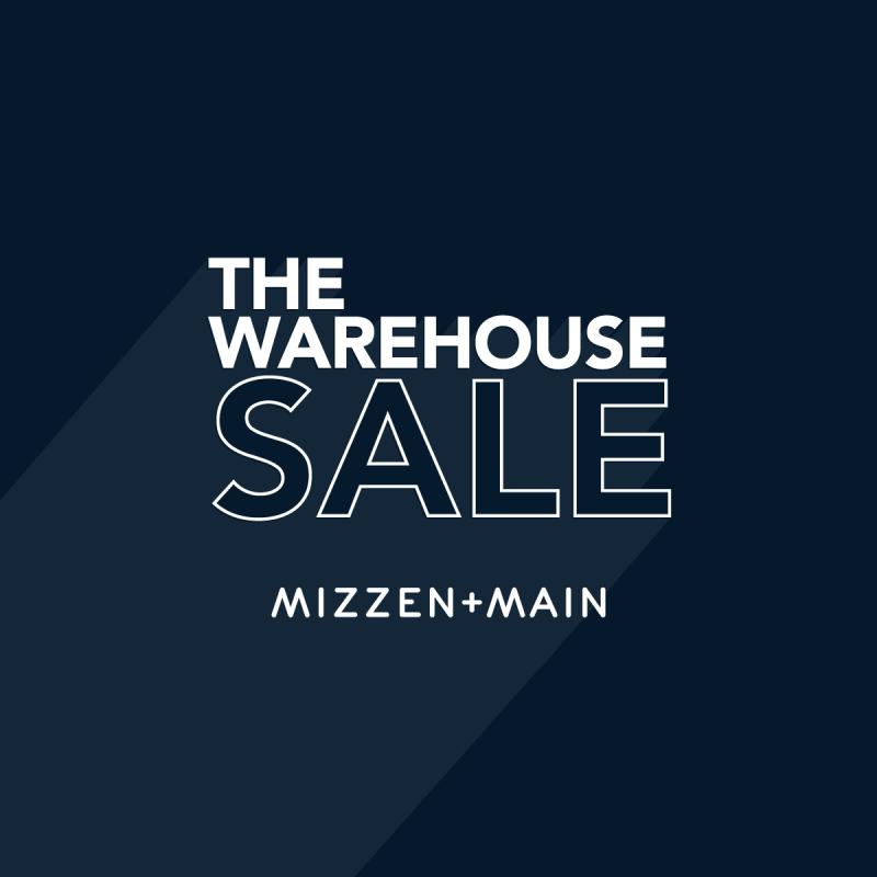 The Mizzen+Main Warehouse Sale logo