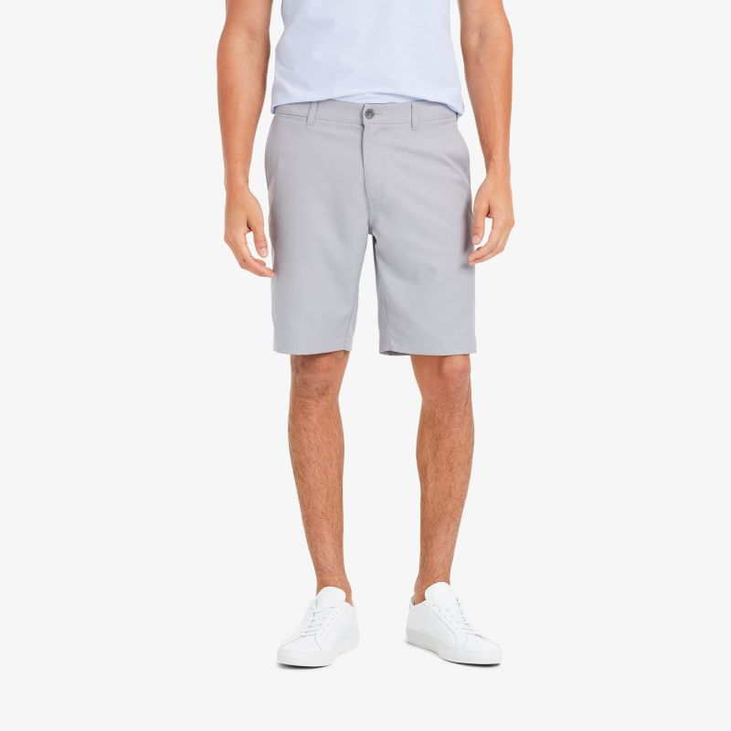 Baron Shorts - Ash Gray Solid, featured product shot