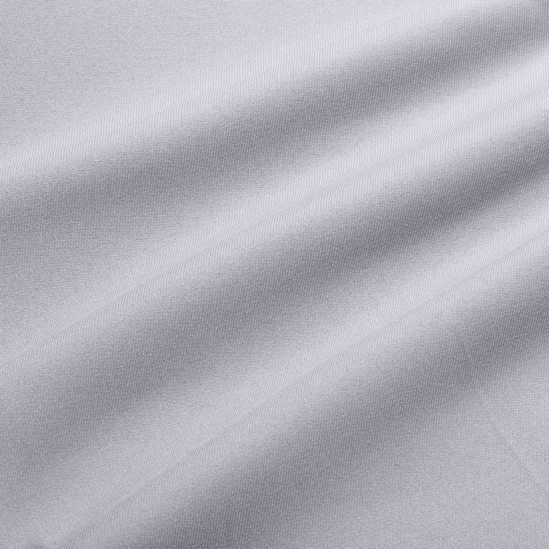 Baron Shorts - Ash Gray Solid, fabric swatch closeup