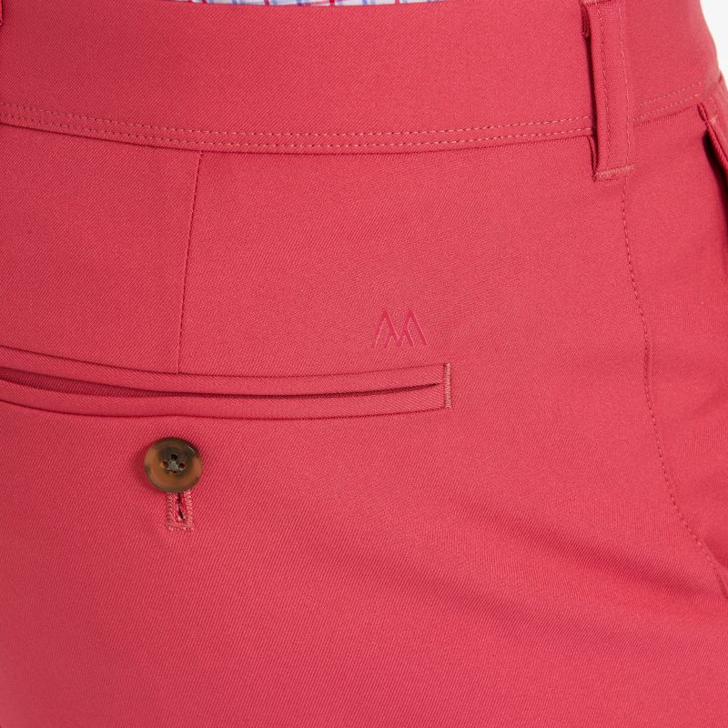 Baron Shorts - Faded Red Solid, lifestyle/model