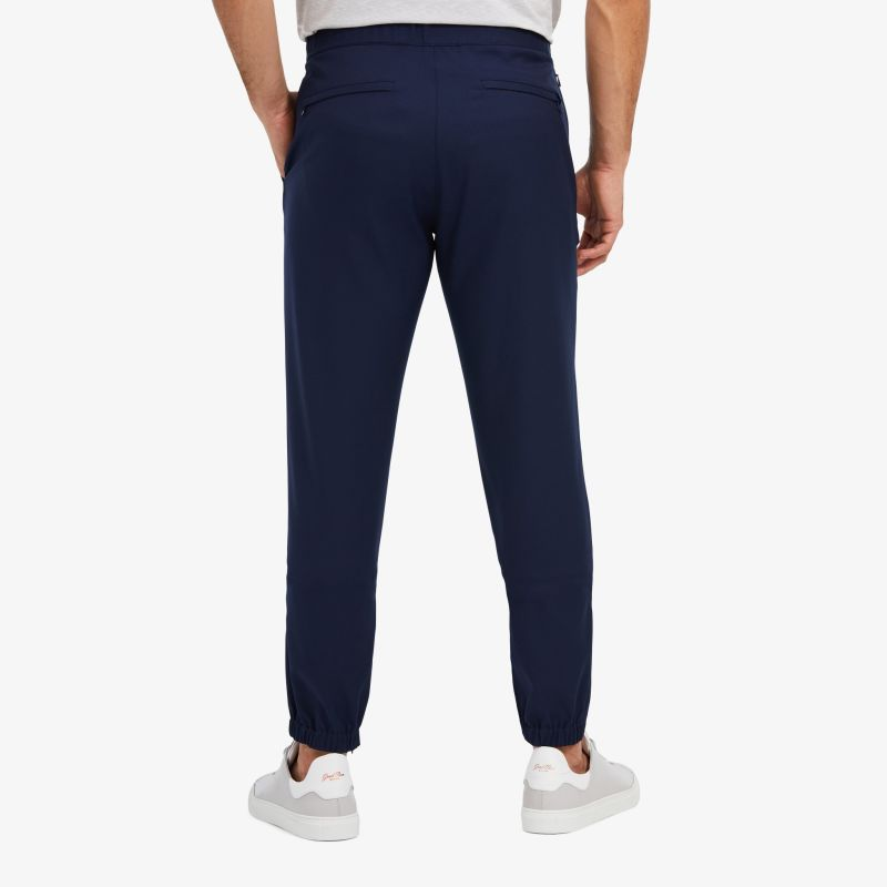 Baron Jogger - Navy Solid, lifestyle/model