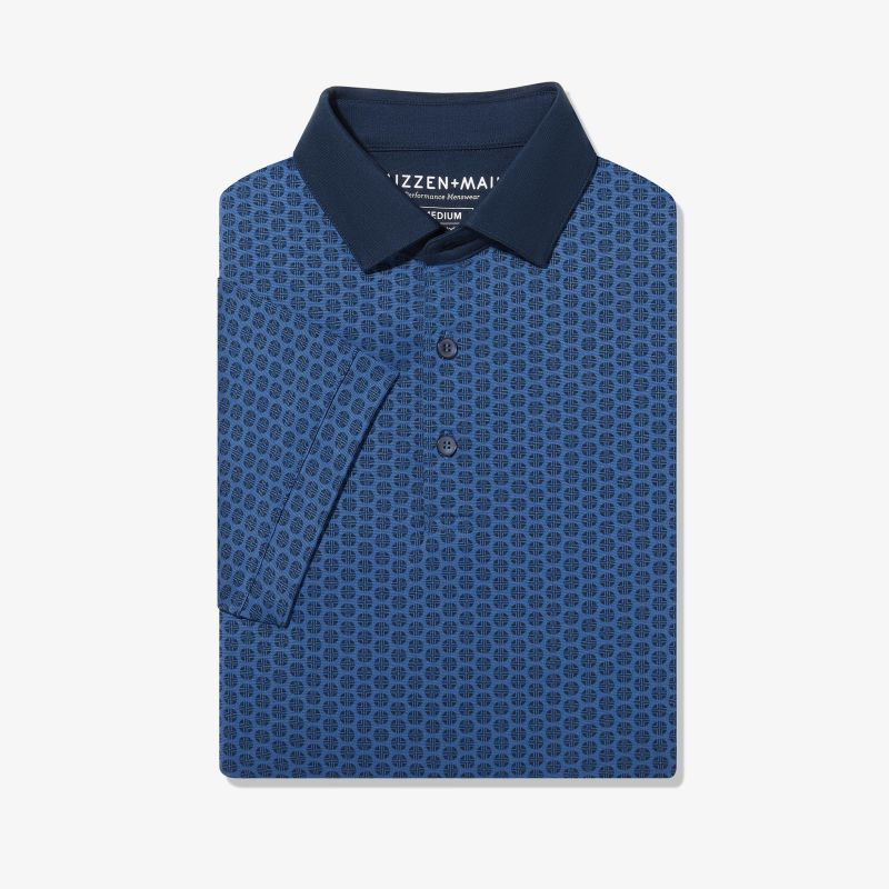 Wilson Polo - Blue Circle Geo Print, featured product shot