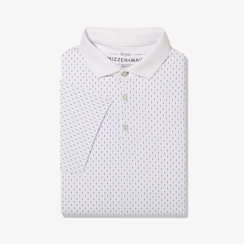 Phil Mickelson Polo - Multi Blue LinePrint, featured product shot