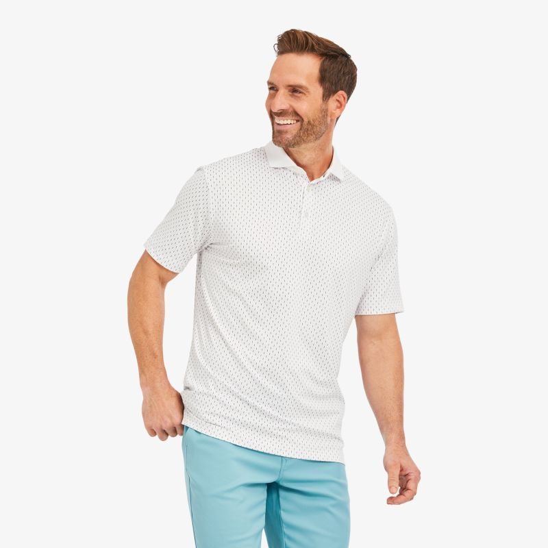 Phil Mickelson Polo - Multi Blue LinePrint, lifestyle/model