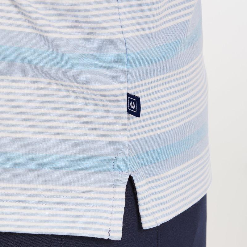 Wilson Polo - Blue Multi Stripe, lifestyle/model