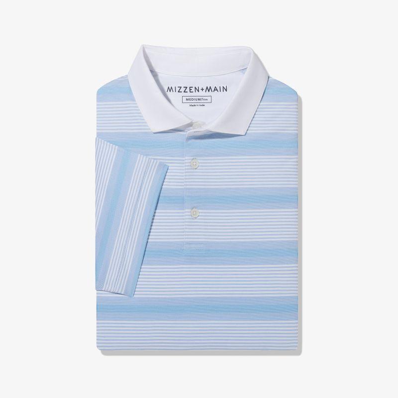Wilson Polo - Blue Multi Stripe, featured product shot