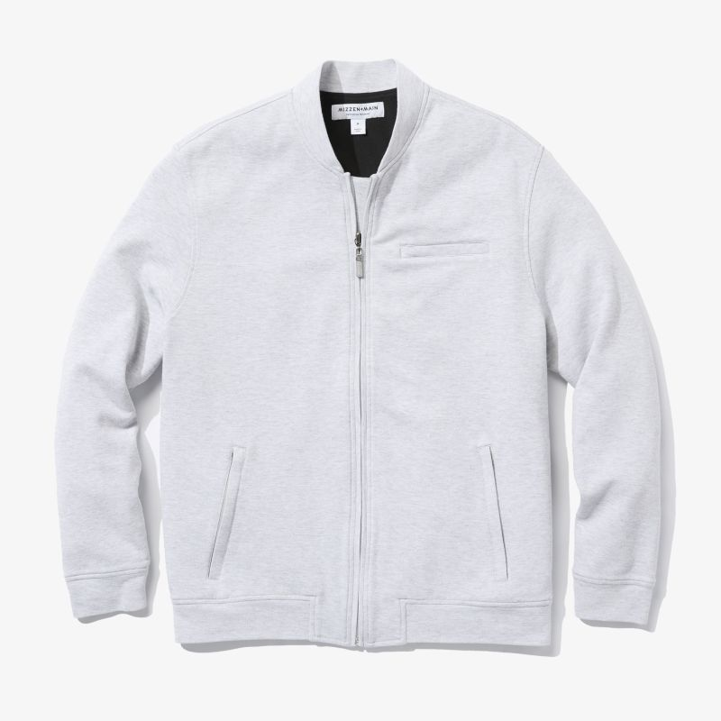 Fairway Bomber - Light Gray Heather, featured product shot