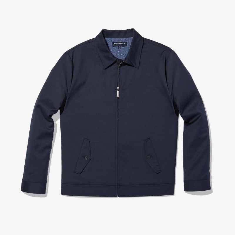 Grant Jacket - Navy Solid, featured product shot