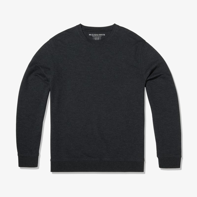Fairway Crewneck - Charcoal Heather, featured product shot
