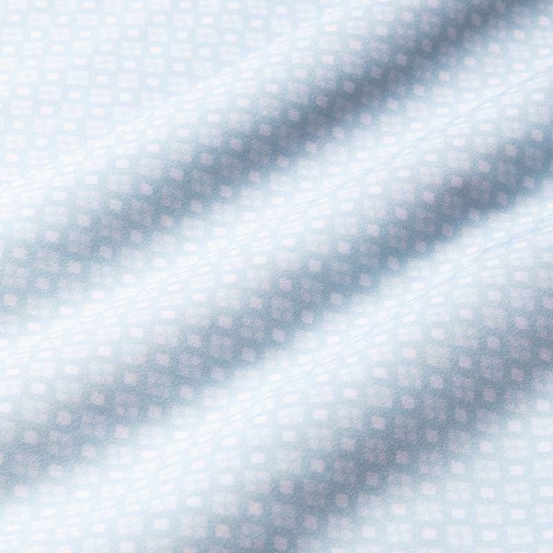Leeward Short Sleeve - Light Blue GeoPrint, fabric swatch closeup