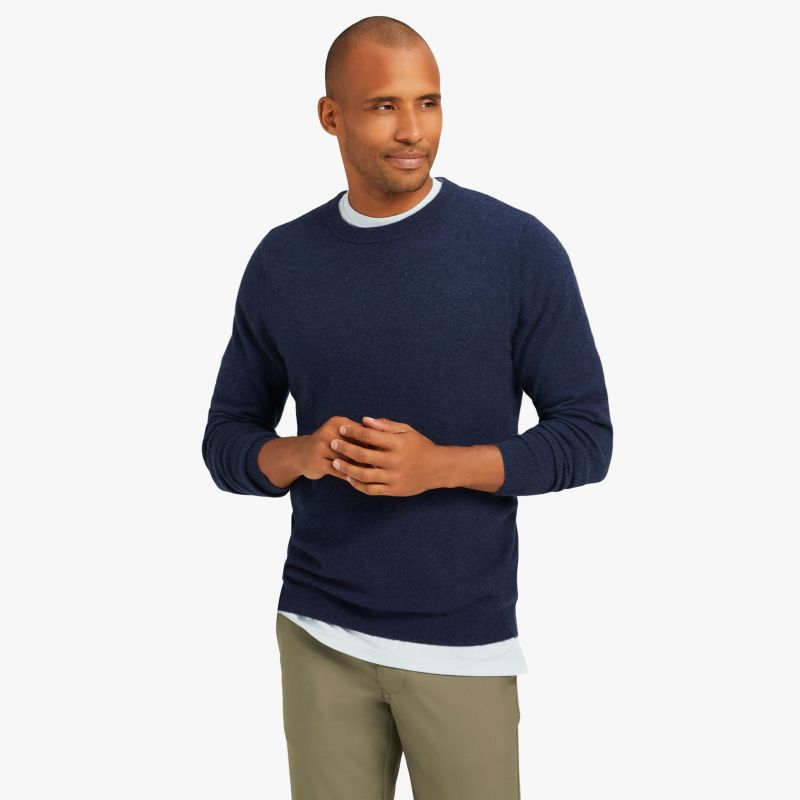 Arden Sweater - Blue Heather, lifestyle/model