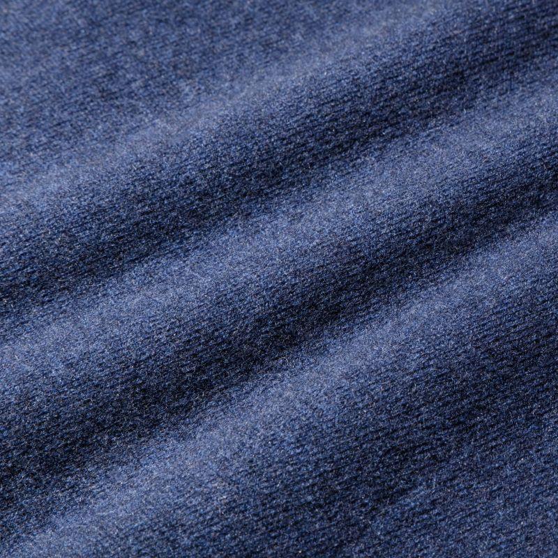 Arden Sweater - Blue Heather, fabric swatch closeup
