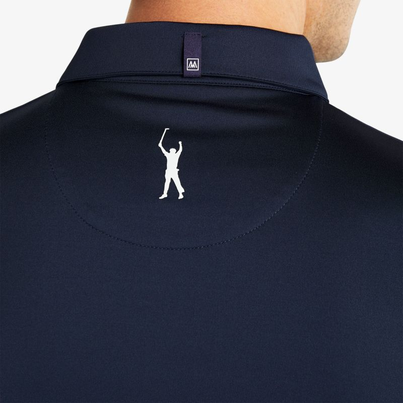 Phil Mickelson Polo - Navy White ColorBlock, lifestyle/model