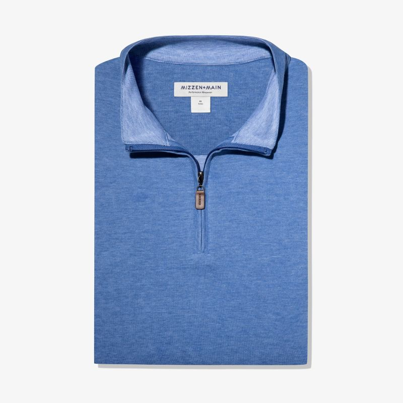Fairway Pullover - Light Blue Heather, featured product shot