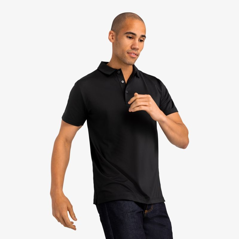 Phil Mickelson Polo - Black, lifestyle/model