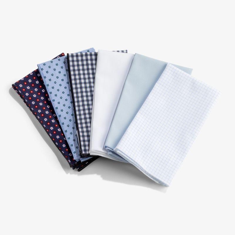 Pocket Square - Light Blue Solid, lifestyle/model