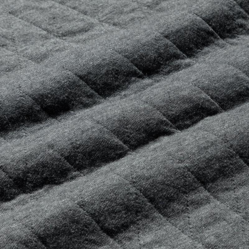Fairway Vest - Charcoal Heather, fabric swatch closeup
