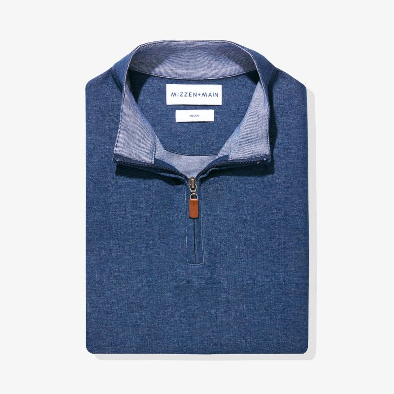 Fairway Pullover - Navy Heather, featured product shot
