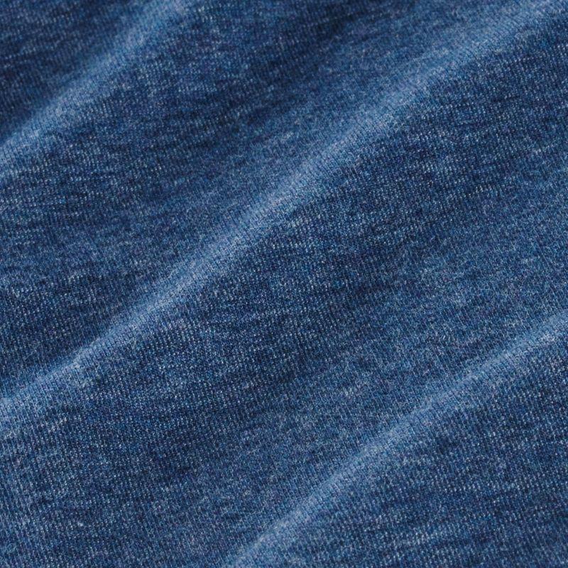 Fairway Pullover - Navy Heather, fabric swatch closeup