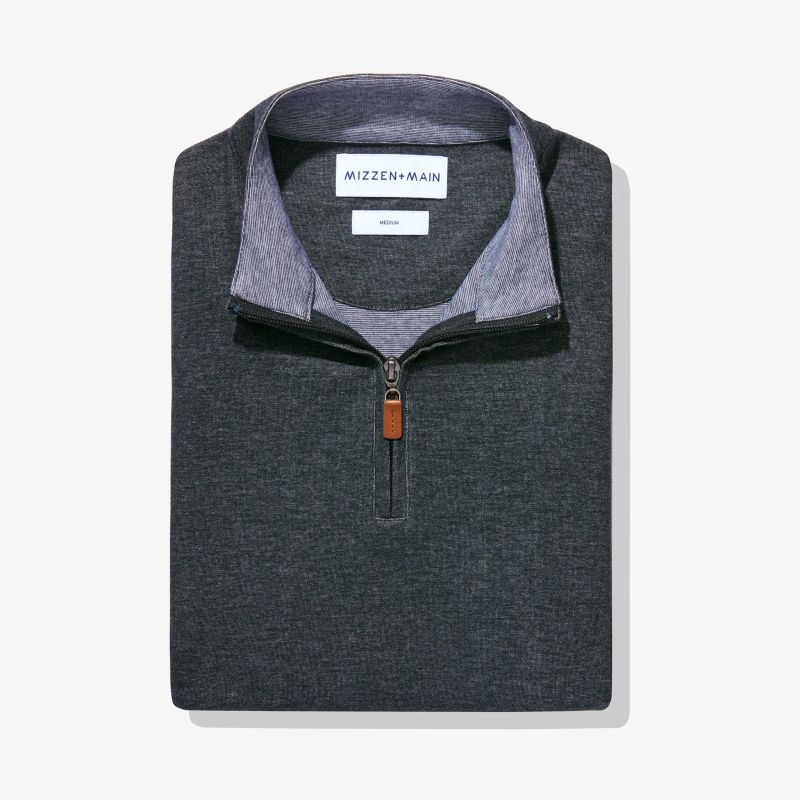 Fairway Pullover - Charcoal Heather, featured product shot