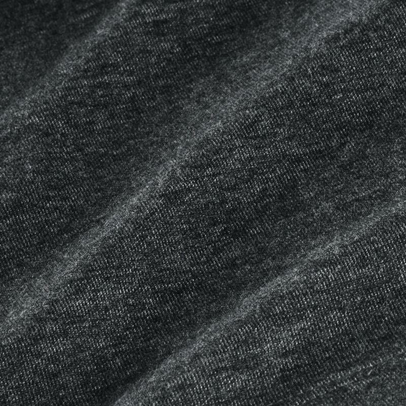 Fairway Pullover - Charcoal Heather, fabric swatch closeup
