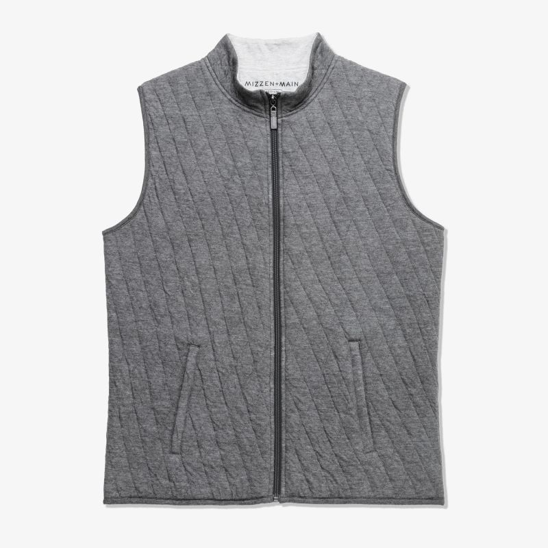Fairway Vest - Charcoal Heather, featured product shot