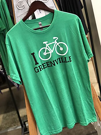 I Bike Greenville T-shirt