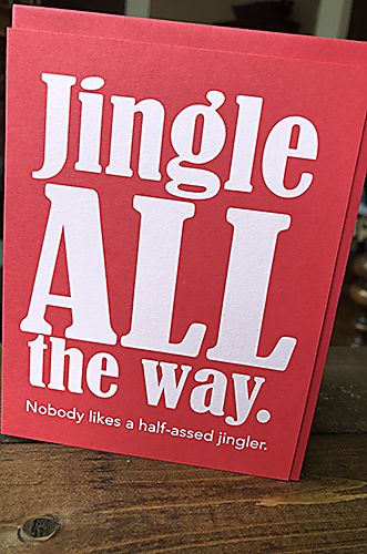 Jingle All the Way - Holiday Card