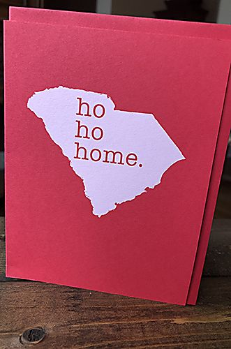 Ho, ho, home - Holiday Card