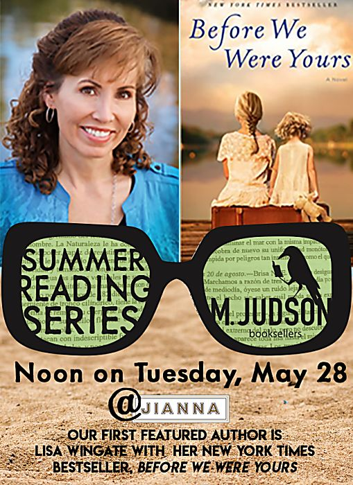 Summer Reading Series - May 28