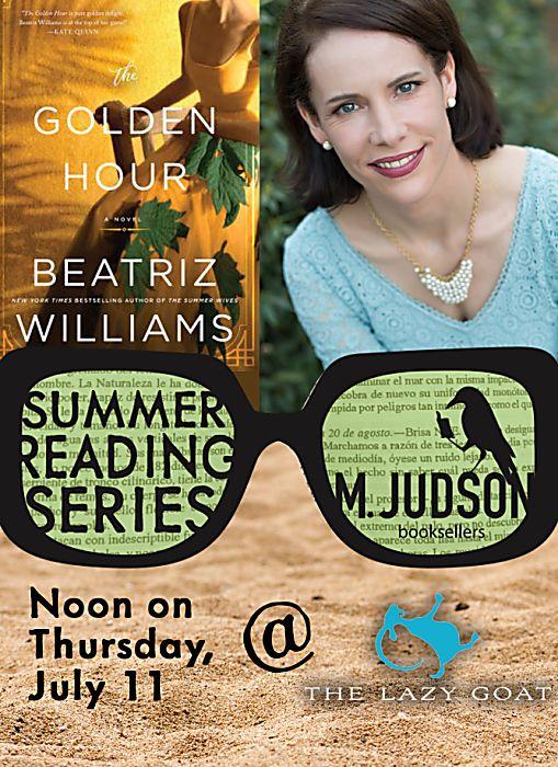 Beatriz Williams Summer Reading Series