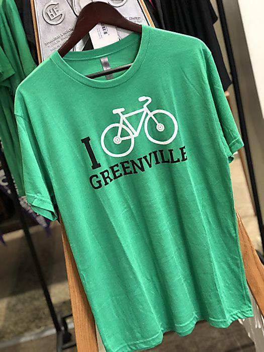 I Bike Greenville T-shirt