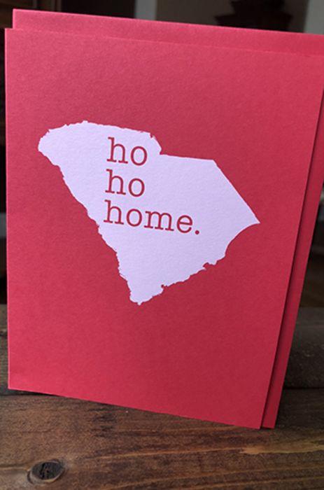 Ho, ho, home - Holiday Card
