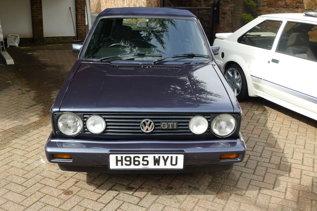 view topic mk1 golf gti convertible helios blue for sale the mk1 golf owners club. Black Bedroom Furniture Sets. Home Design Ideas