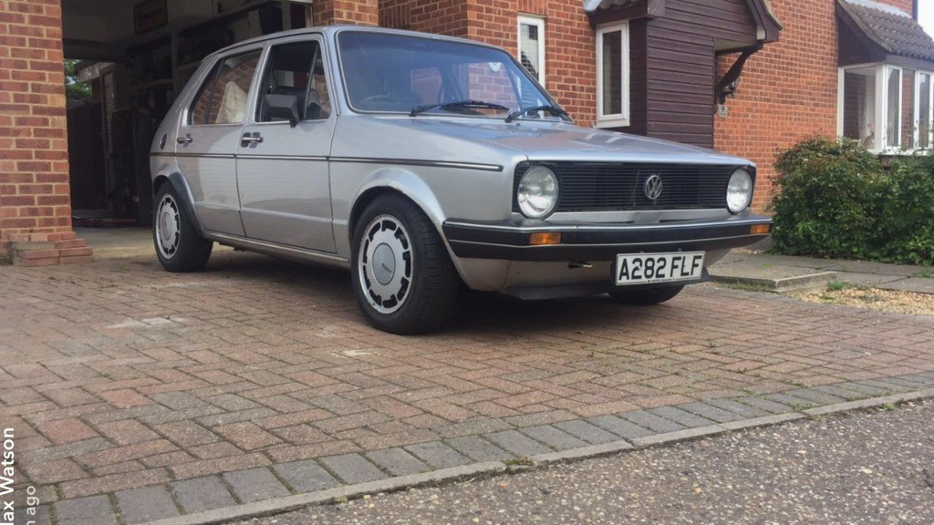 View Topic Golf Gx The Mk1 Golf Owners Club