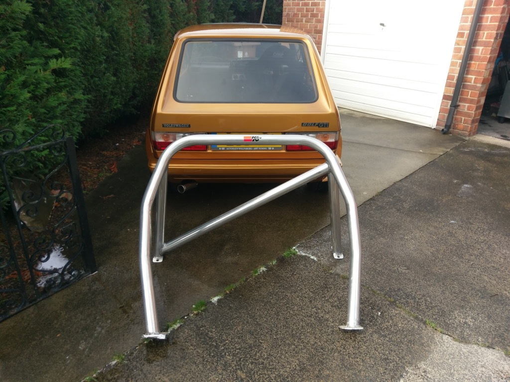 View topic: Mk1 Golf bolt-in Roll Cage – The Mk1 Golf Owners