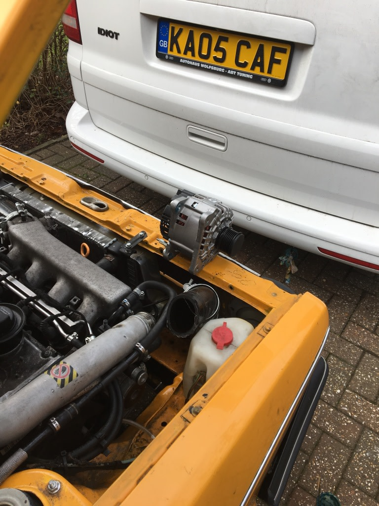 View Topic Battery Not Charging The Mk1 Golf Owners Club But Wiring Alternator Using Blue Exciter Wire Coming Hopefully Ill Have Good News In An Hour