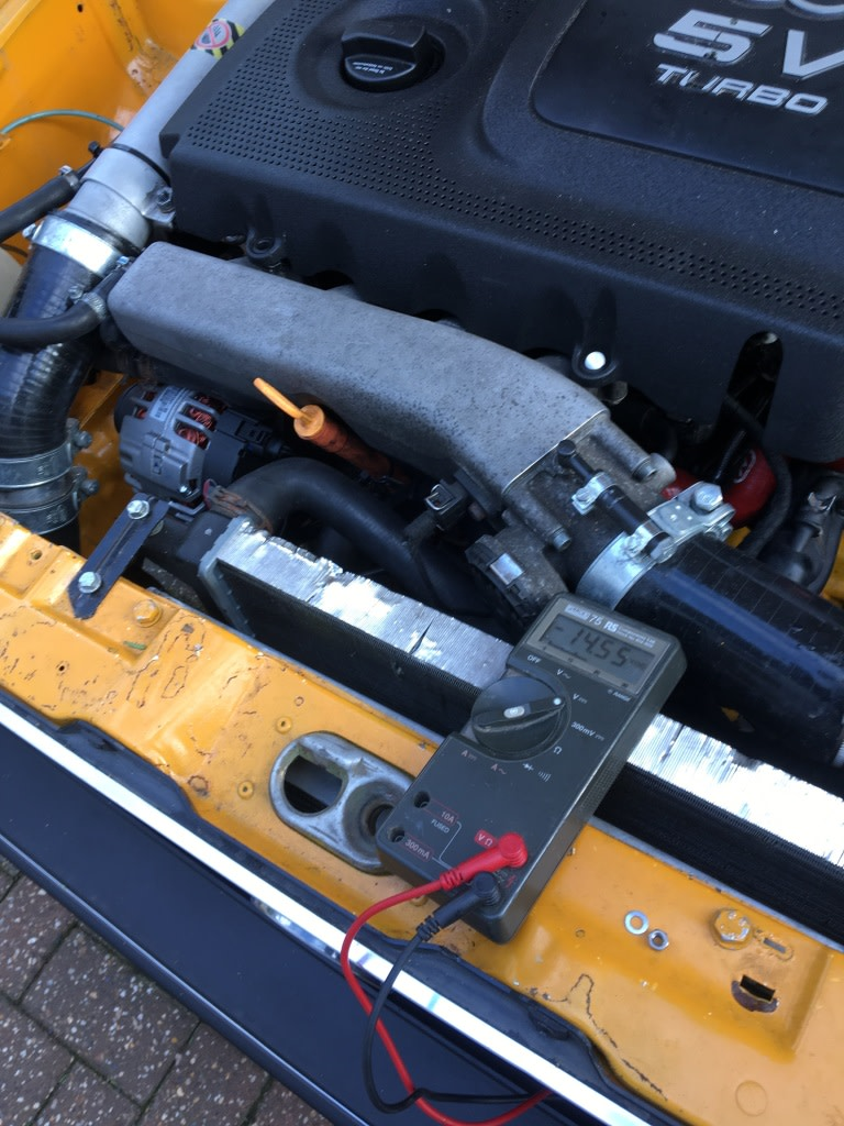 View topic: Battery not charging :( – The Mk1 Golf Owners Club