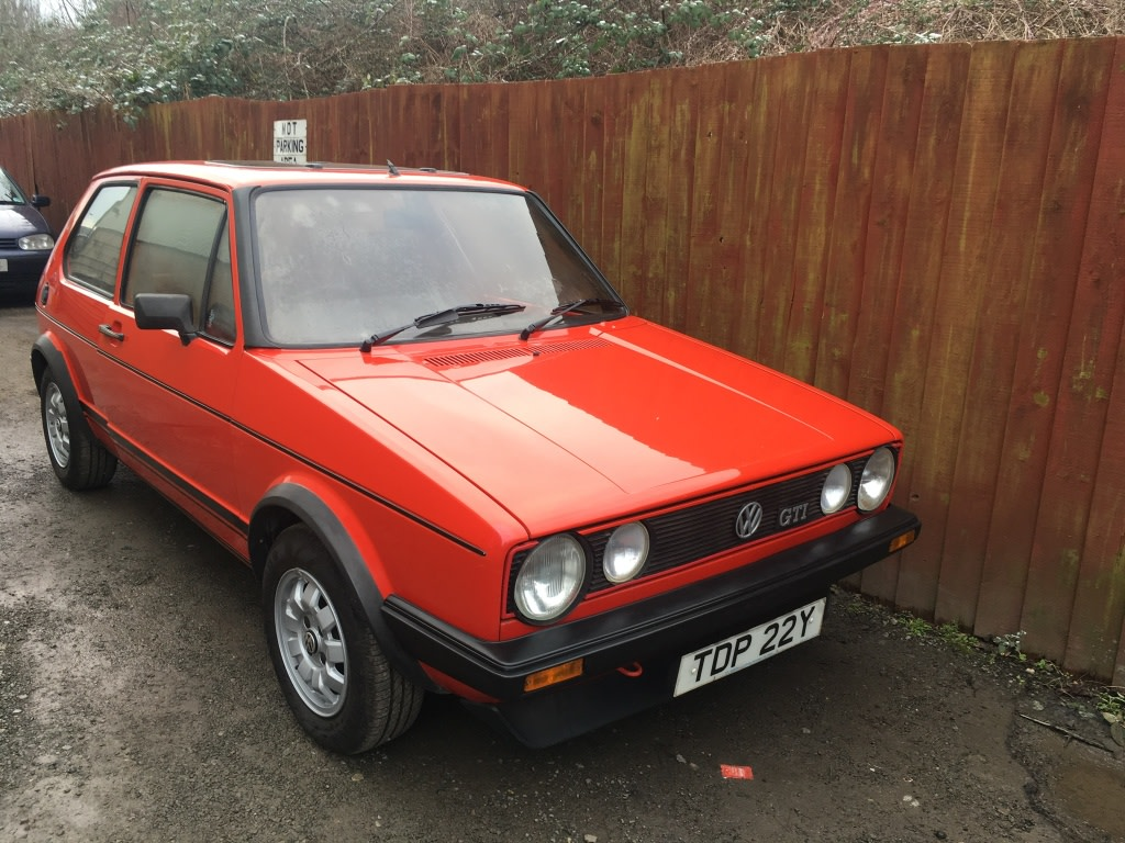 View Topic Mk 1 Vw Golf Gti For Sale The Mk1 Golf Owners Club