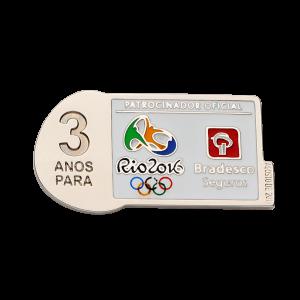 Pin Bradesco Rio 2016