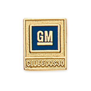 Pin GM Ouro - CLube dos 30
