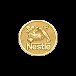 Pin Ouro Nestle