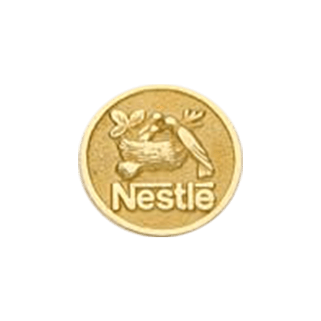 Pin Ouro Nestle