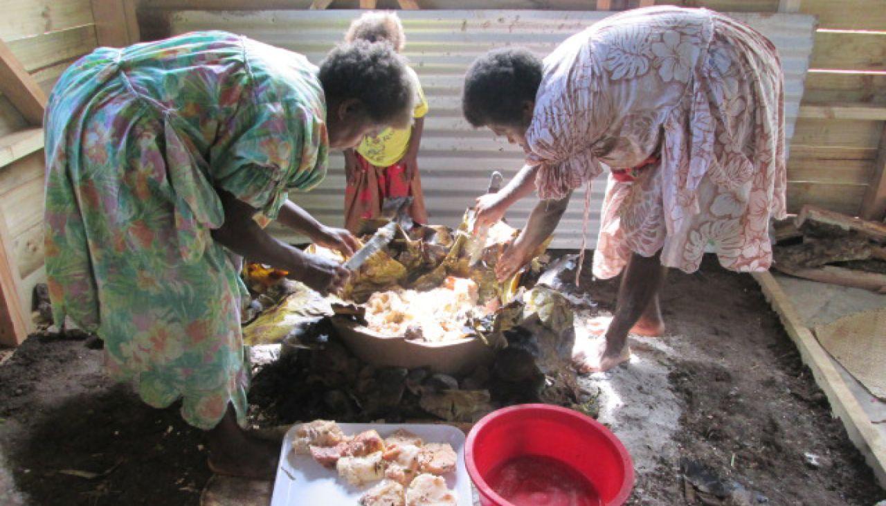Community kitchens in Vanuatu