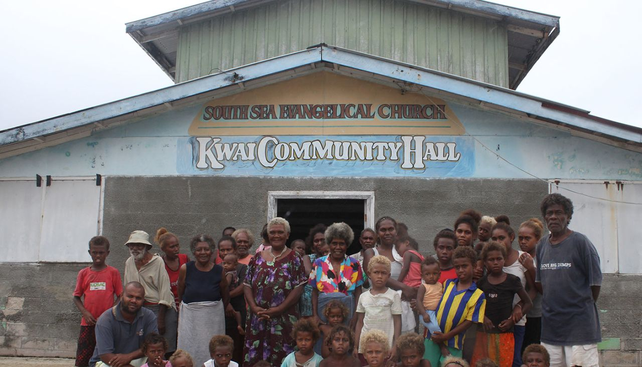 Food security training sessions in the Solomon Islands