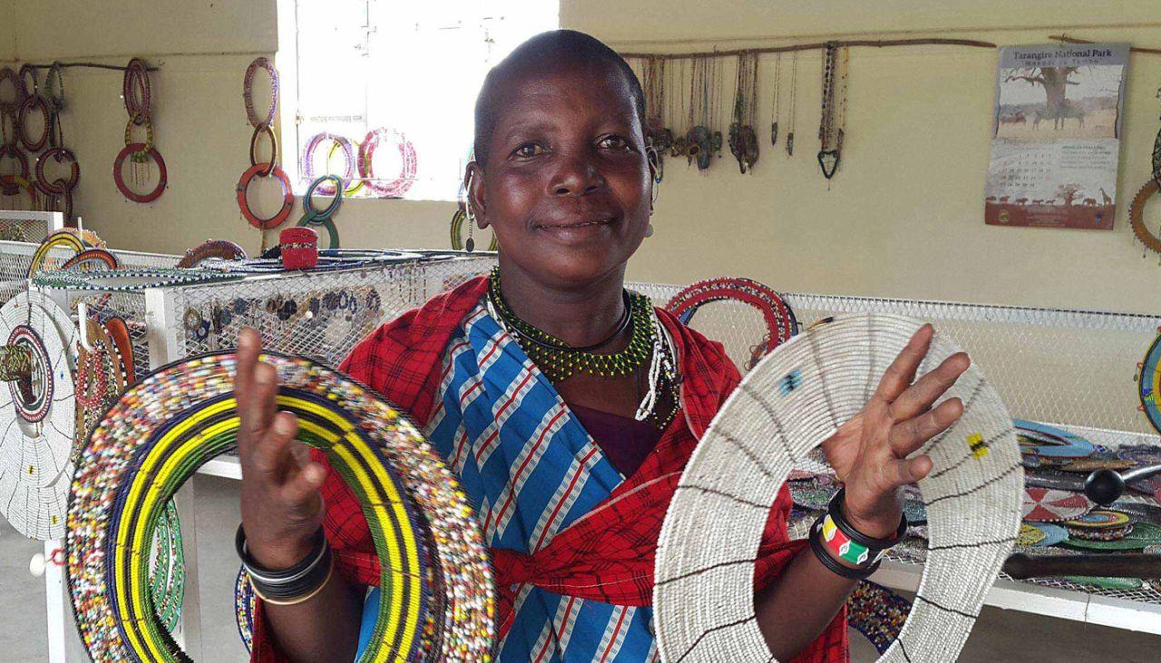 Maasai women in business