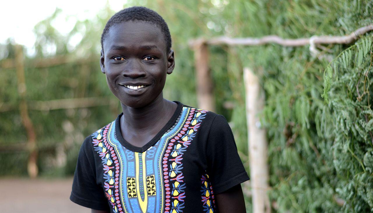 Maker has escaped fighting in South Sudan twice