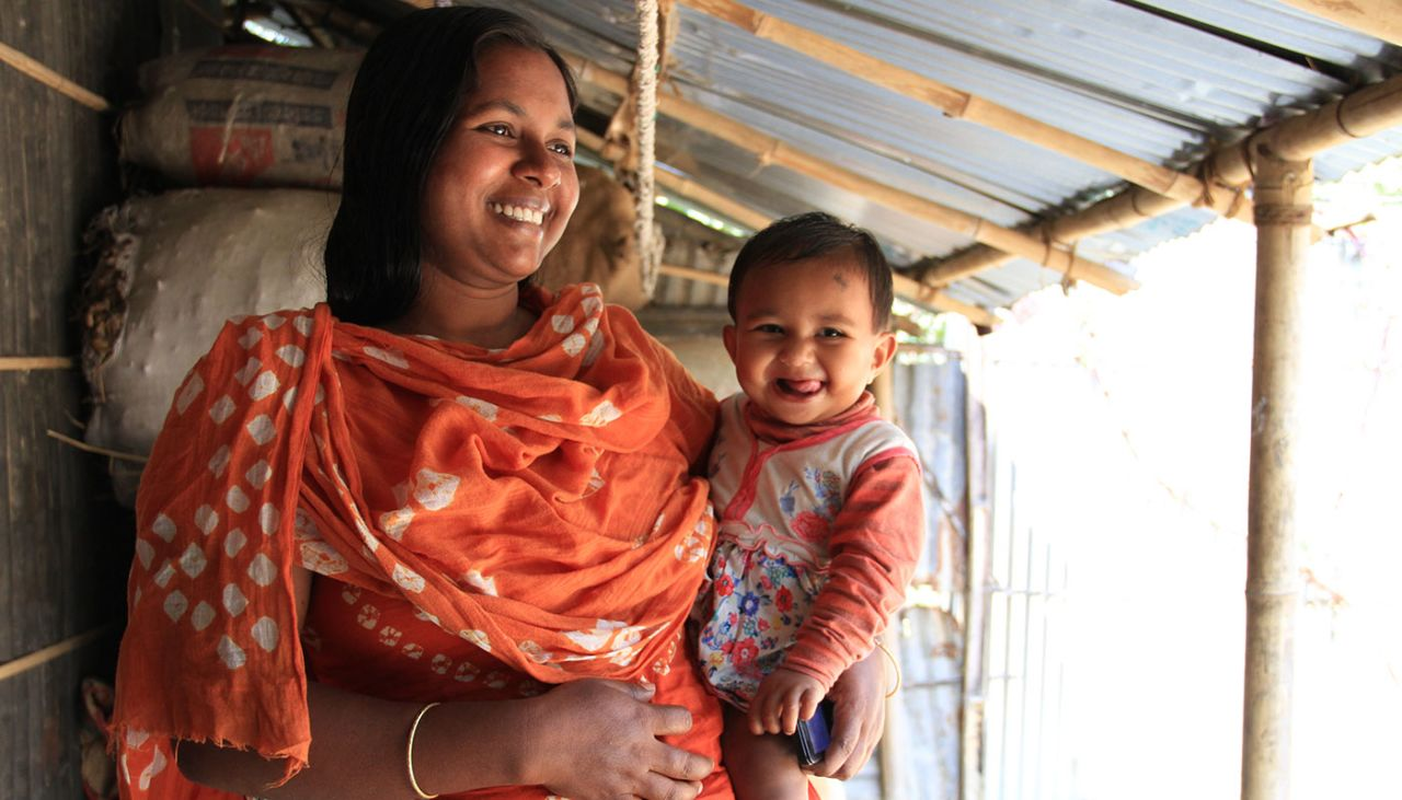 Women's support group empowering mothers