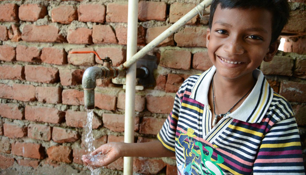 More families have access to clean drinking water